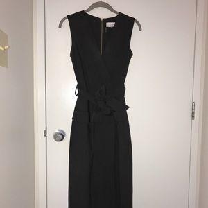 ASOS Closet. little black wrap dress